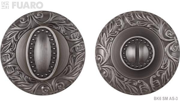 Ручка поворотная BK6 SM AS-3 античное серебро