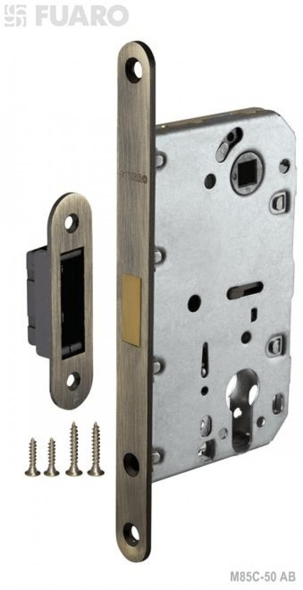 Корпус замка MAGNET M85C-50 AB бронза с магнитным язычком
