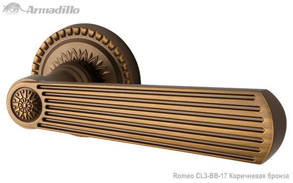 Ручка раздельная Romeo CL3-BB-17 Коричневая бронза