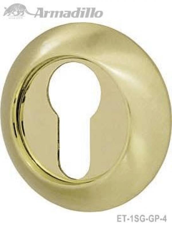 Накладка CYLINDER ET-1SG/GP-4 матовое золото/золото 2шт