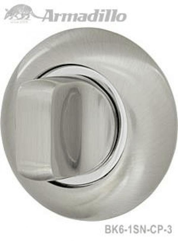 Ручка поворотная WC-BOLT BK6-1SN/CP-3 матовый никель/хром