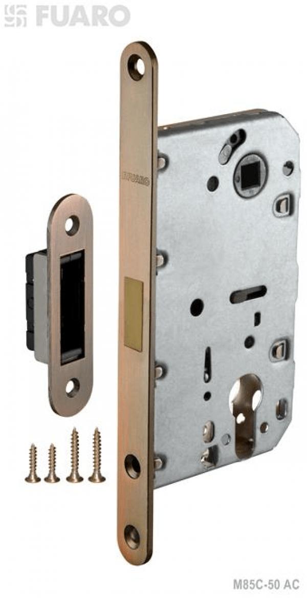 Корпус замка MAGNET M85C-50 AC медь с магнитным язычком
