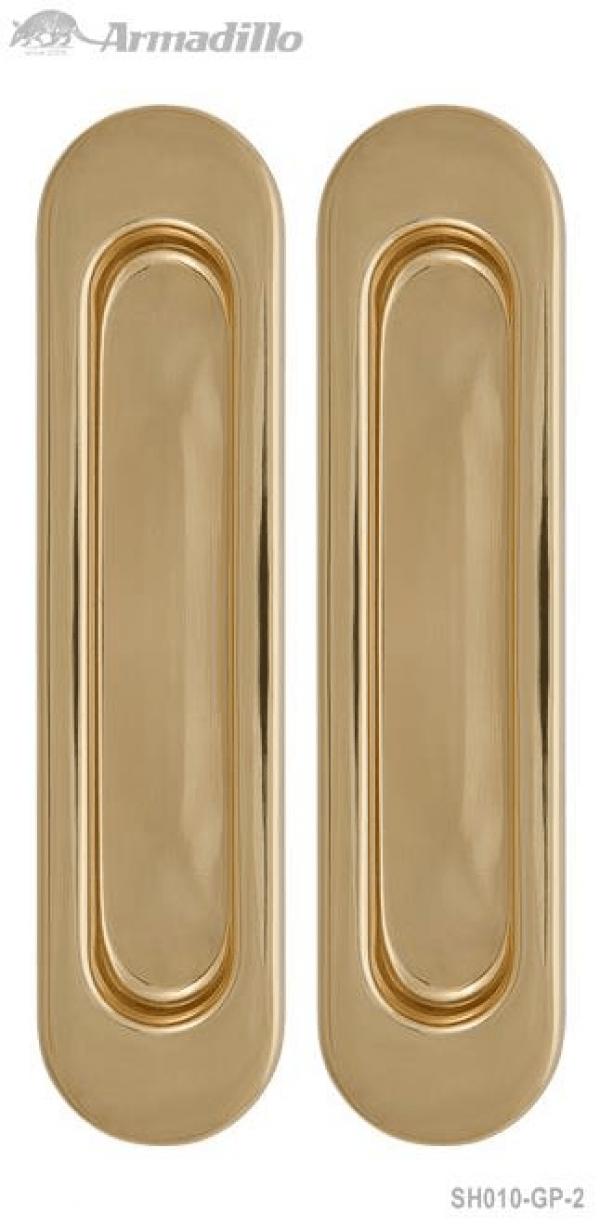 Ручка для раздвижных дверей SH010-GP-2 золото